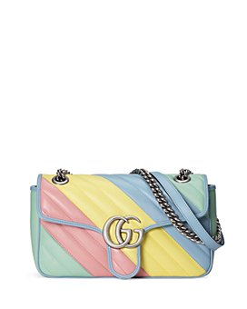 Gucci - GG Marmont Small Multicolor Matelassé Shoulder Bag
