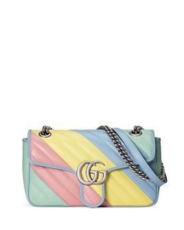 Gucci - GG Marmont Small Multicolor Matelassé Shoulder Bag