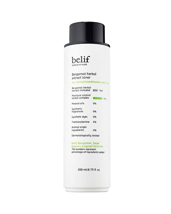 Belif Bergamot Herbal Extract Toner 6.75 Oz.
