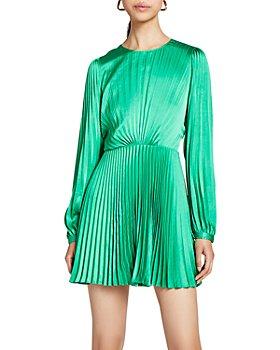 A.L.C. - Tavi Pleated Mini Dress