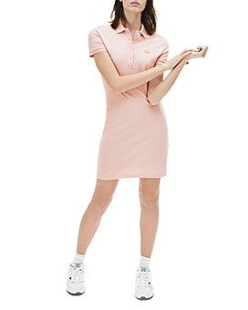 Lacoste - Stretch Cotton Piqué Polo Dress
