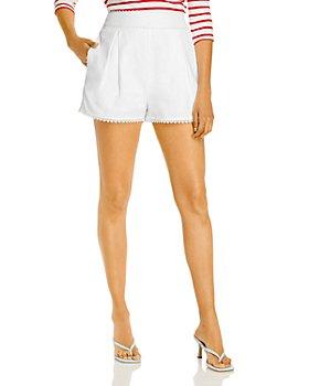 AQUA - Lace Trim Shorts - 100% Exclusive