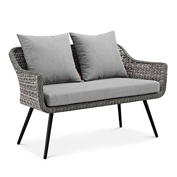 Modway - Endeavor Outdoor Patio Wicker Rattan Loveseat