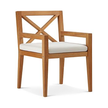 Modway - Northlake Outdoor Patio Teak Wood Dining Armchair