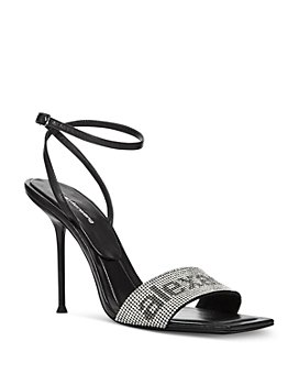 Alexander Wang - Women's Julie Ankle Strap Embellished High Heel Sandals