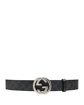 Gucci - Men's GG Supreme Belt with G Buckle