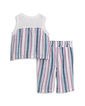 Splendid - Girls' Woven Striped Top & Pants Set - Baby