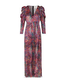 Notes du Nord - Passion Silk Printed Maxi Dress