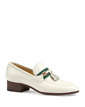 Gucci - Women's Low Heel Paride Tassel Loafers