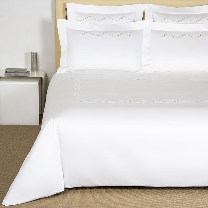 Frette - Luminescent Pearls Embroidery Bedding Collection