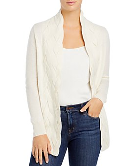 C by Bloomingdale's - Braided Cashmere Cardigan - 100% Exclusive