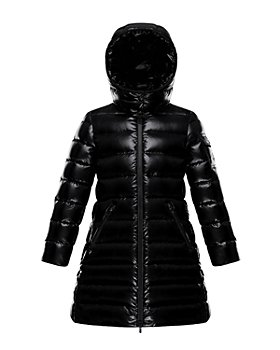 Moncler - Girls' Moka Long Down Coat - Little Kid, Big Kid