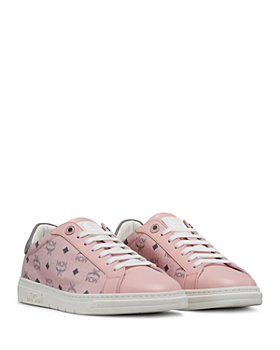 MCM - Women's New Court Low Top Sneakers