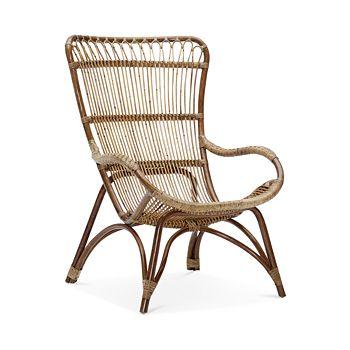 Sika Design - Monet High Back Rattan Lounge Chair