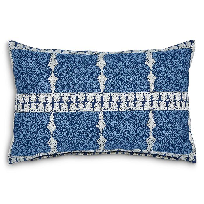 "John Robshaw - Cacarra Decorative Pillow, 12"" x 18"""