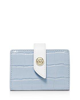 MICHAEL Michael Kors - Tab Mini Embossed Leather Card Case