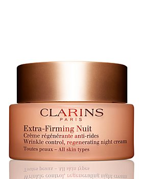 Clarins - Extra-Firming Night Wrinkle Control Regenerating Cream for All Skin Types 1.6 oz.