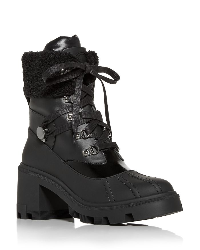 Moncler - Women's Corinne Block Heel Hiking Boots
