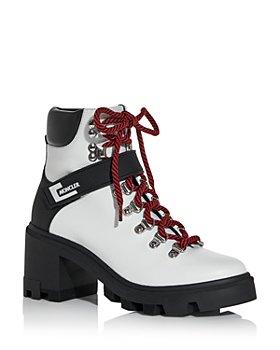 Moncler - Women's Carol Block Heel Hiking Boots