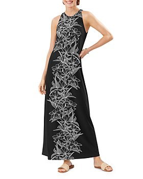 Tommy Bahama - Midnight Blooms Printed Maxi Dress
