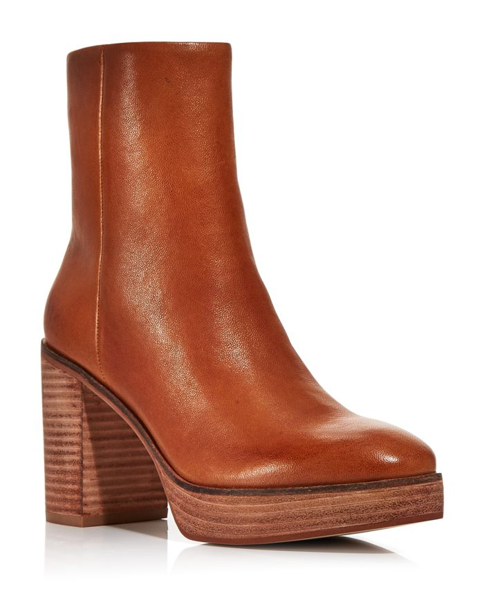 AQUA Women's Nessa Platform Booties - 100% Exclusive  | Bloomingdale's