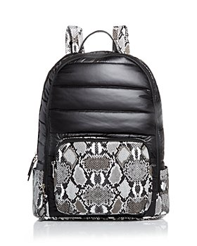 GiGi - Girls' Custom Snake-Embossed Puffy Backpack