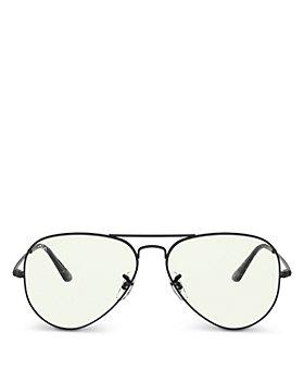 Ray-Ban - Unisex Aviator Blue Light Glasses