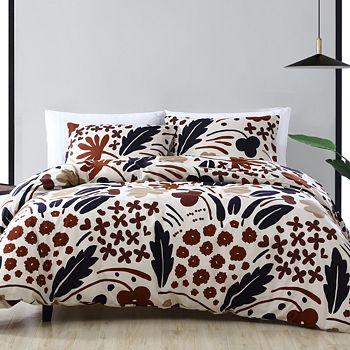 Marimekko - Suvi Brown Comforter Set, Twin
