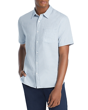 Vince Double Face Jacquard Woven Shirt-Men