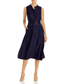KARL LAGERFELD PARIS - Belted Midi Dress
