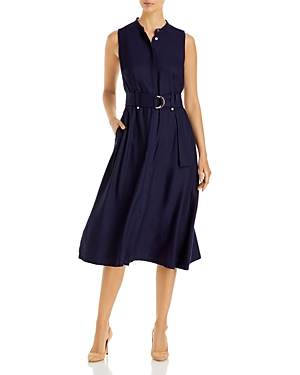 Karl Lagerfeld Paris Belted Midi Dress-Women
