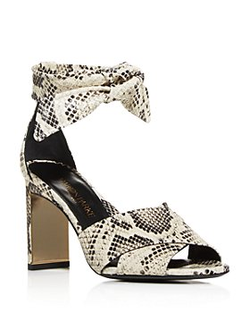 MARION PARKE - Women's Leah Ankle Tie High Heel Sandals