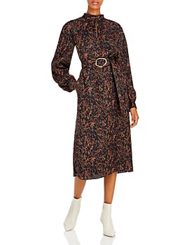 Lafayette 148 New York - Giana Marble Print Jacquard Dress