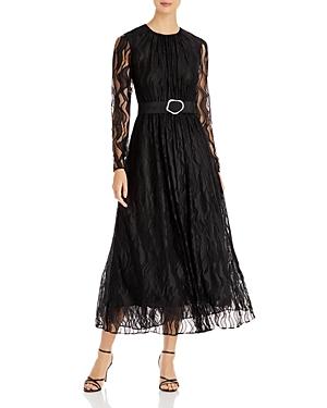 Lafayette 148 New York Genteel Waves Lace Hayden Dress-Women