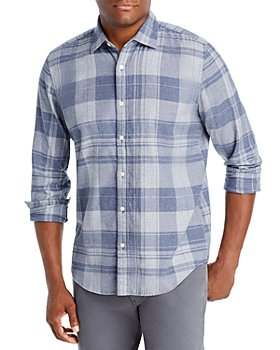 The Men's Store at Bloomingdale's - Cotton Plaid Classic Fit Button Down Shirt - 100% Exclusive