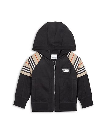 Burberry - Boys' Hamilton Icon Stripe Hoodie - Little Kid, Big Kid