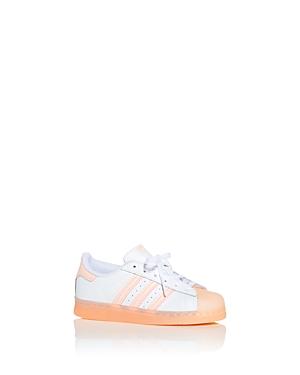 Adidas Girls' Superstar Low Top Sneakers - Toddler, Little Kid