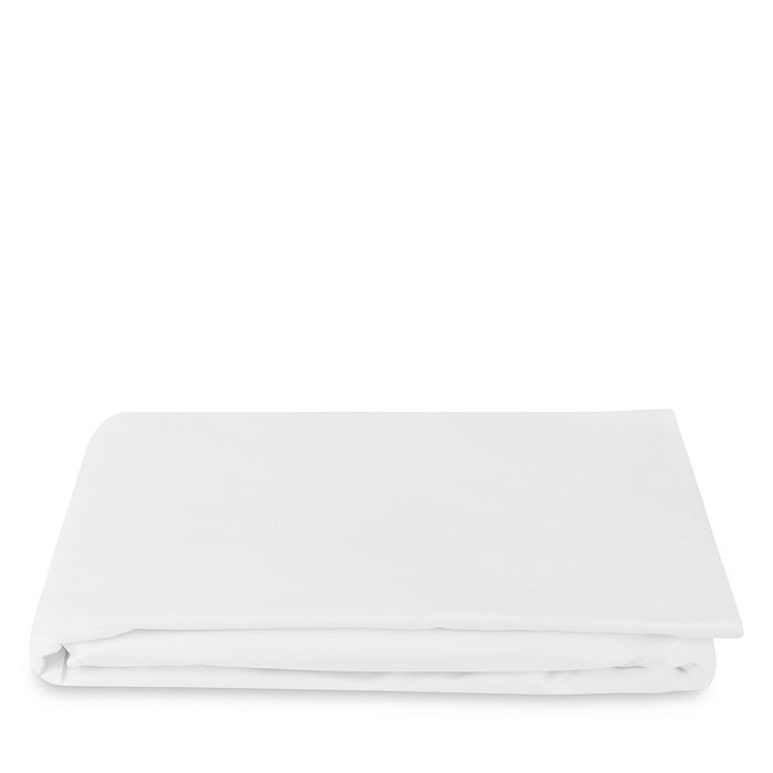 Matouk Bergamo Fitted Sheet, California King In White