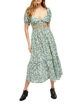 Free People - Ellie Printed Maxi Dress