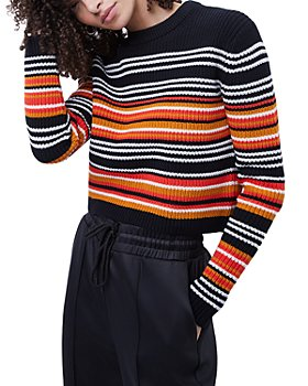 FRENCH CONNECTION - June Striped Knit Sweater