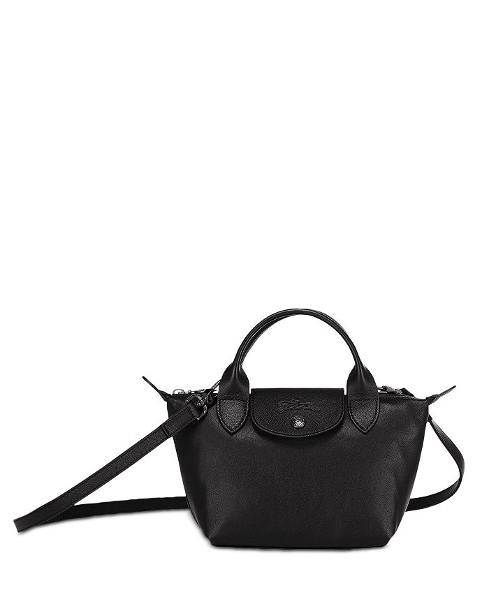 Le Pliage Cuir Extra Small Leather Shoulder Bag
