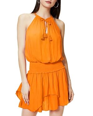 Ramy Brook Rubie Smocked Waist Mini Dress-Women