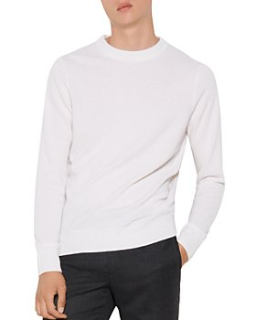 Sandro - Cashmere Double-Thread Crewneck Sweater