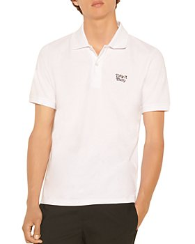 Sandro - Cotton Embroidered Polo