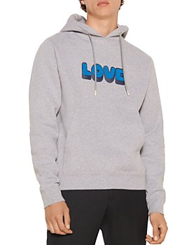 Sandro - Embroidered Love Hoodie