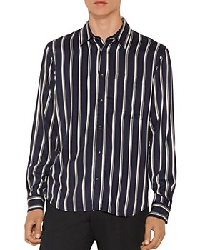 Sandro - Flow Striped Shirt