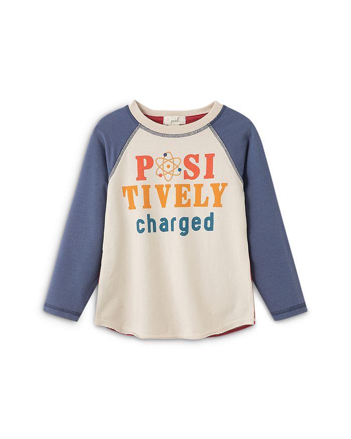 Peek Kids - Boys' Julian Positively Charged Raglan Top - Little Kid, Big Kid