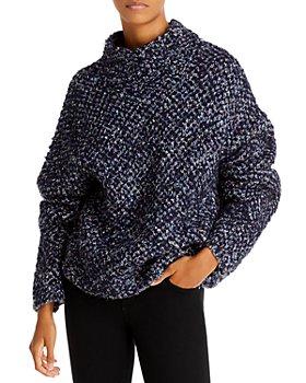 3.1 Phillip Lim - Mock Neck Bouclé Sweater