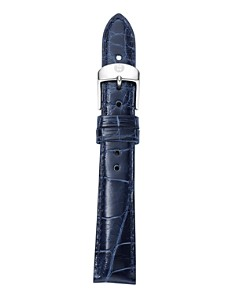 MICHELE - Alligator Watch Strap, 16-20mm