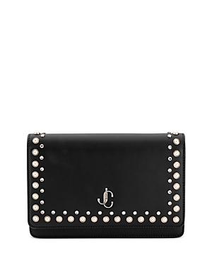 Jimmy Choo Palace Mini Embellished Leather Crossobody-Handbags